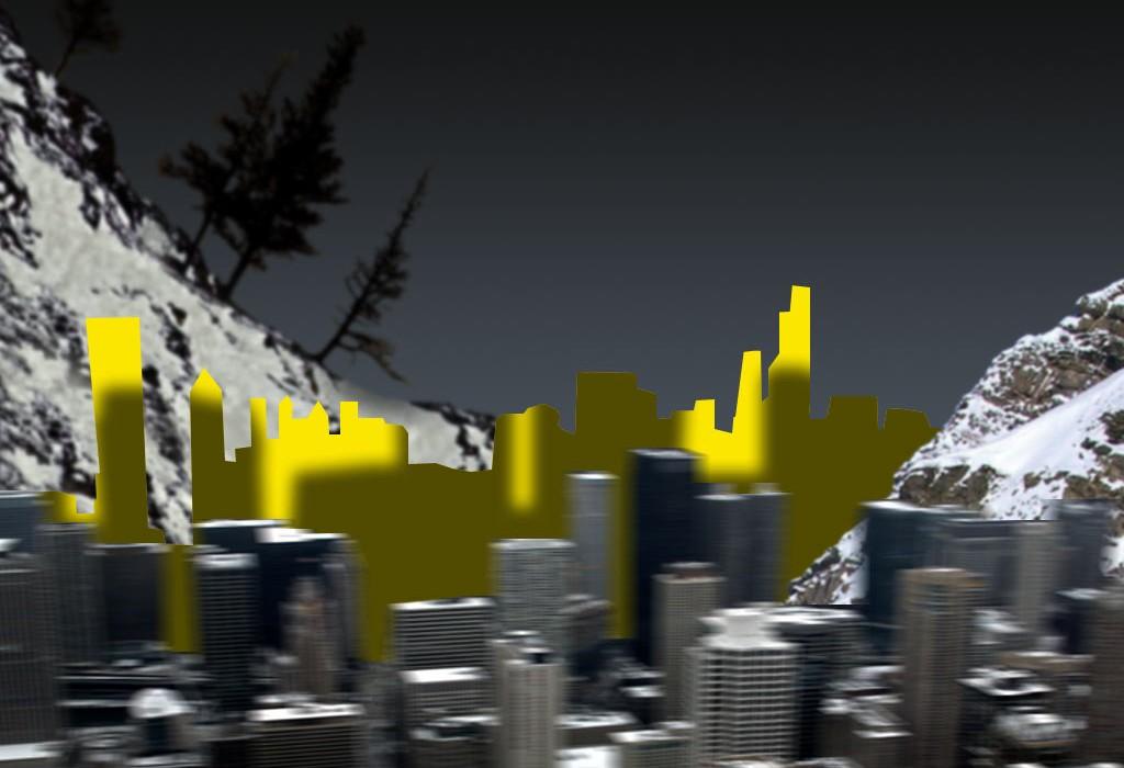 Bildbearbeitung Stadt
