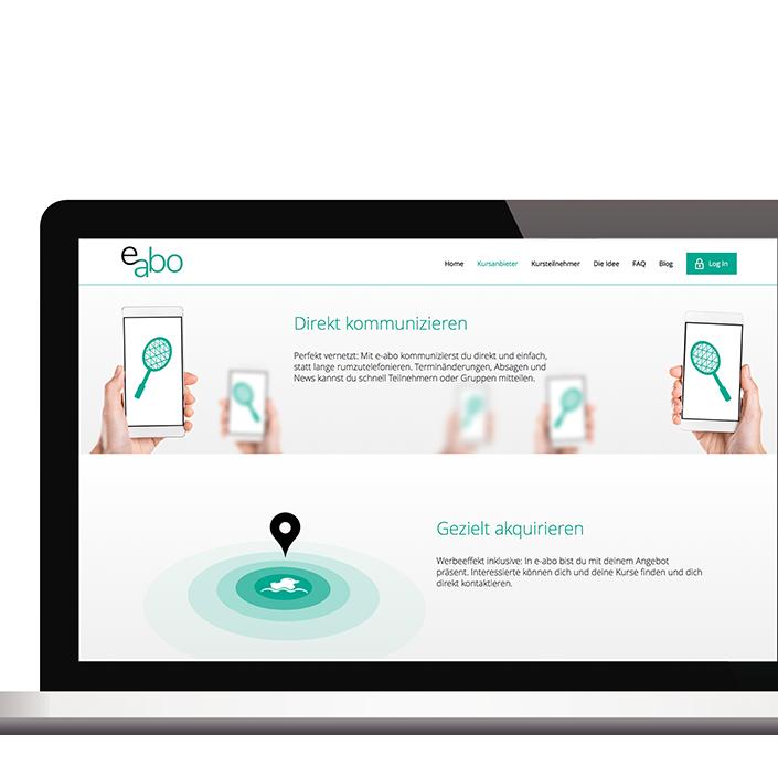 Website e-abo