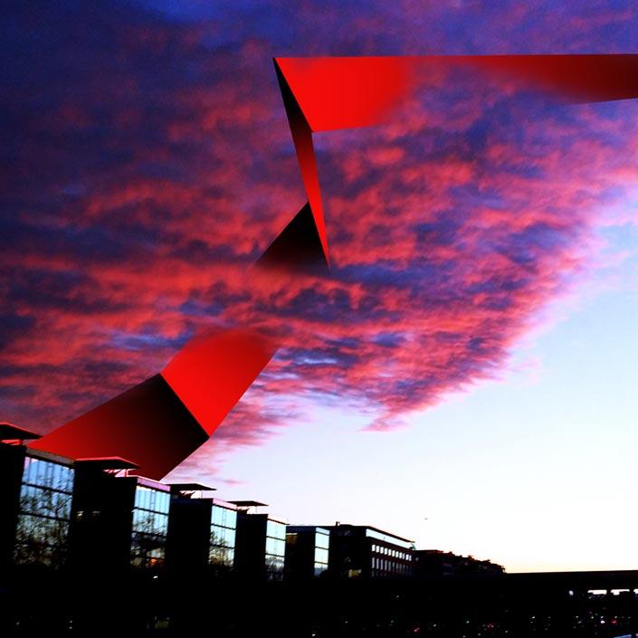 Bildbearbeitung Sky
